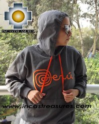 100% Alpaca Women Sweatshirt Peru  - Product id: women-alpaca-sweater13-01 Photo06