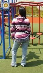 100% Alpaca Women Sweatshirt picaflor  - Product id: women-alpaca-sweater12-05 Photo02