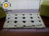 100% Alpaca baby alpaca round fur rug ancha alqa - Product id: ALPACAFURRUG10-05 Photo04