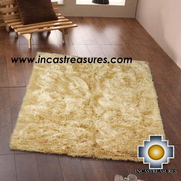 100 Baby Alpaca Fur Rug Borderless Beige Product Id