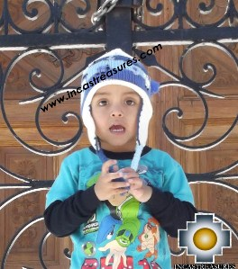 Alpaca Children Hat happy-farm -  Product id: Alpaca-children-Hats13-04 Photo01