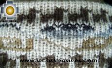 Alpaca Headband Andean Design Cream -  Product id: Alpaca-Headband10-01 Photo02