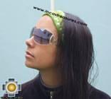 Alpaca Headband Andean Design green -  Product id: Alpaca-Headband10-03 Photo01