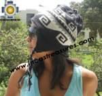 Alpaca Wool Reversible Hat ite - Product id: Alpaca-Hats11-02 Photo04
