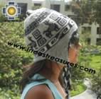 Alpaca Wool Reversible Hat ite - Product id: Alpaca-Hats11-02 Photo03