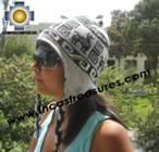 Alpaca Wool Reversible Hat ite - Product id: Alpaca-Hats11-02 Photo02