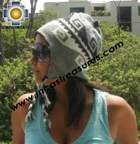 Alpaca Wool Reversible Hat omate - Product id: Alpaca-Hats11-04 Photo04