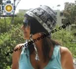 Alpaca Wool Reversible Hat omate - Product id: Alpaca-Hats11-04 Photo02