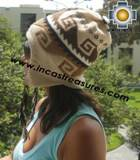Alpaca Wool Reversible Hat torata - Product id: Alpaca-Hats11-05 Photo04