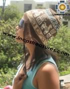 Alpaca Wool Reversible Hat torata - Product id: Alpaca-Hats11-05 Photo03