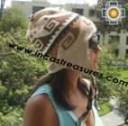 Alpaca Wool Reversible Hat torata - Product id: Alpaca-Hats11-05 Photo01