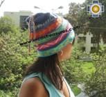 100% alpaca Winter Hat andenes purple  -  Product id: Alpaca-Hats12-09 Photo03