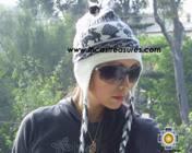 Alpaca Wool Hat Classic Design Llama tullu -  Product id: Alpaca-Hats09-08 Photo02