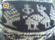 Alpaca Wool Hat Classic Design Llama yana -  Product id: Alpaca-Hats09-09 Photo03
