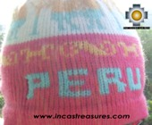 Alpaca Wool Hat Classic Design peru pukayay -  Product id: Alpaca-Hats09-12 Photo03