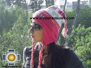 Alpaca Wool Hat Classic Design peru pukayay -  Product id: Alpaca-Hats09-12 Photo01