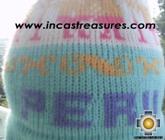Alpaca Wool Hat Classic Design peru puquypacha -  Product id: Alpaca-Hats09-13 Photo03