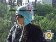 Alpaca Wool Hat Classic Design peru puquypacha -  Product id: Alpaca-Hats09-13 Photo01