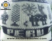 Alpaca Wool Hat Classic Design peru tullu -  Product id: Alpaca-Hats09-14 Photo03