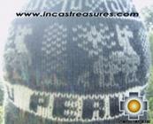 Alpaca Wool Hat Classic Design peru yana -  Product id: Alpaca-Hats09-15 Photo03