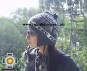 Alpaca Wool Hat Classic Design peru yana -  Product id: Alpaca-Hats09-15 Photo01