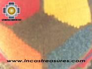 Alpaca Wool Hat Geometric Design Earth -  Product id: Alpaca-Hats09-21 Photo03