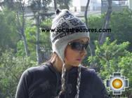 Alpaca Wool Reversible Hat Achachila Inti - Product id: Alpaca-Hats09-25 Photo02
