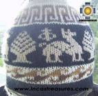 Alpaca Wool Reversible Hat Achachila llama - Product id: Alpaca-Hats09-26 Photo03