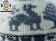 Alpaca Wool Reversible Hat Achachila llama - Product id: Alpaca-Hats09-26 Photo06