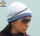 Alpaca Wool Reversible Hat andean sky - Product id: Alpaca-Hats09-47 Photo03