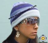 Alpaca Wool Reversible Hat andean sky - Product id: Alpaca-Hats09-47 Photo01