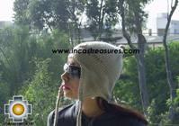 Alpaca Wool Hat with Embroidery Kantuta tiwu  - Product id: Alpaca-Hats09-03 Photo01