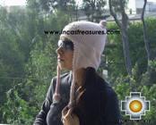 Alpaca Wool Hat with Embroidery Kantuta tikanchasqa  - Product id: Alpaca-Hats09-05 Photo01