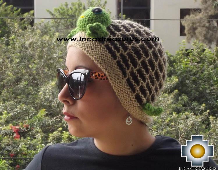 Alpaca Animal Hat Happy Turtle -  Product id: Alpaca-Hats13-06