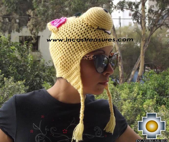 Alpaca Animal Hat Lady Pig -  Product id: Alpaca-Hats13-08