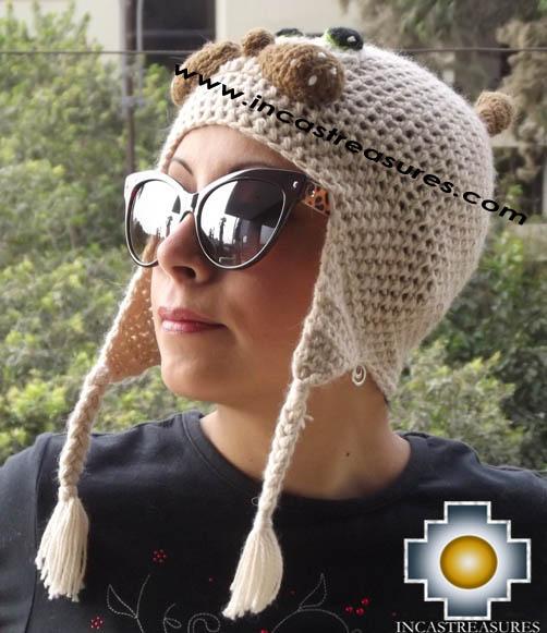 Alpaca Animal Hat Mister Cat -  Product id: Alpaca-Hats13-09