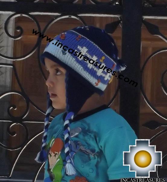 Alpaca Children Hat Arpillita -  Product id: Alpaca-children-Hats13-01