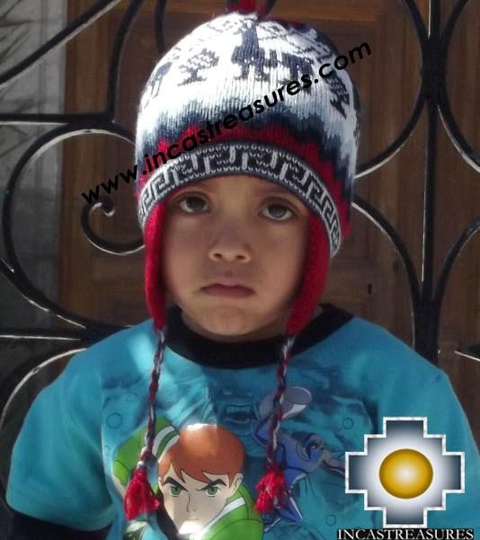 Alpaca Children Hat baby-llamas -  Product id: Alpaca-children-Hats13-02