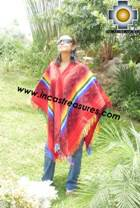 Andean Poncho Hualhua qusqu UNISEX  - Product id:  ANDEAN-PONCHO09-02 Photo02