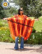 Andean Poncho Hualhua qusqu UNISEX  - Product id:  ANDEAN-PONCHO09-03 Photo01