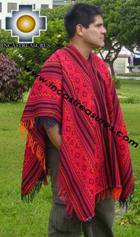 Andean Poncho Hualhua qusqu UNISEX  - Product id: ANDEAN-PONCHO09-01 Photo03