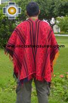 Andean Poncho Hualhua qusqu UNISEX  - Product id: ANDEAN-PONCHO09-01 Photo02