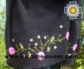 Rabbit Andean Shawl Kututu Yana - Product id: rabbit-shawl-01 Photo03