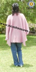 Rabbit Andean Shawl Pink Spring - Product id: rabbit-shawl-04 Photo03