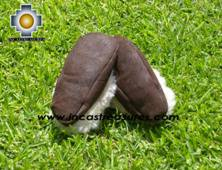 SHEEPSKIN SLIPPER brown HUASCARAN - Product id: SLIPPERS09-01 Photo03