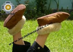 SHEEPSKIN SLIPPER camel misti - Product id: SLIPPERS09-03 Photo04