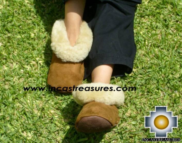 SHEEPSKIN SLIPPER camel misti - Product id: SLIPPERS09-03