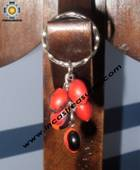 Jewelry keyring Andean Charm jungle seeds Yuriy - Product id: Andean-Jewelry10-05 Photo01