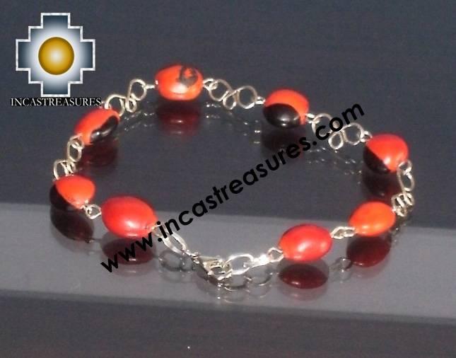 Jewelry Bracelet Huayruro seeds Tuta