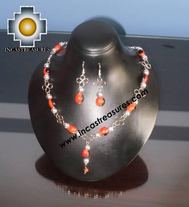 Jewelry kit Huayruro Seeds Awasqa - Product id: Andean-Jewelry10-06 Photo03